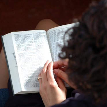 Woman Reading Scripture - Hebraic Roots Movement
